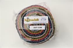 "40 stk 2,5"" Bali dream Batik Patchworkstof strimler - Dot com"