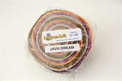 "40 stk 2,5"" Bali dream Batik Patchworkstof strimler - Java Dream"