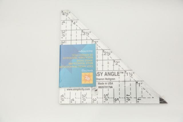 "Easy angle triangle Patchwork lineal -  4,5"" høj"