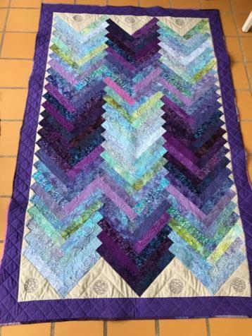 Hej Hanne. Et af mine bedste tæpper er syet af sådan en pakke. Plus lidt ensfarvede. 😁 Kh Eva Kjær