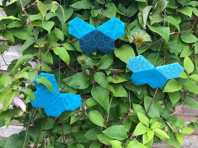 Sommer fugle - gratis mønster fra HANNES patchwork