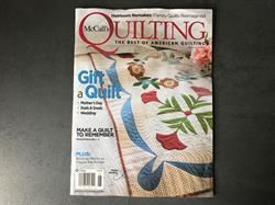 McCall's Quilting patchworkblad 5-6 i 2019 NYT