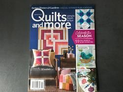 Quilts and more patchworkblad Winter 19 NYT