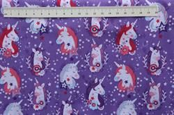 Unicorn kisses patchworkstof