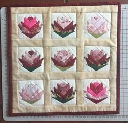 Mini quilt udfordring Lod 16 - Lones mini quilt